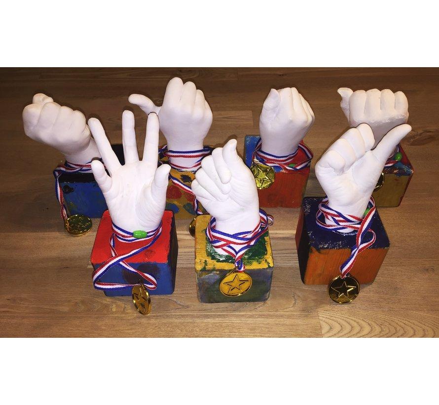Bodycasting Kit -  Baby/Children's Hands Set