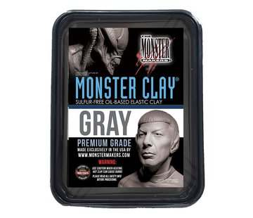 The Monster Makers Monster Clay Gray