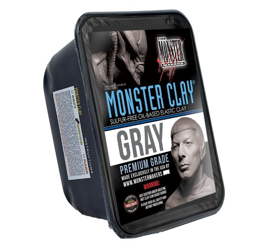 Monster Clay Gray