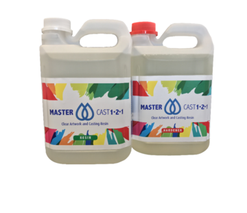 Eli-Chem Resins UK LTD MasterCast 1-2-1 Heldere Epoxy Hars coaten en resin art