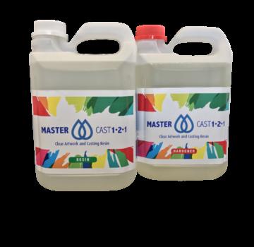 Eli-Chem Resins UK LTD MasterCast 1-2-1 Glasklar Epoxy Harz Coating und resin art