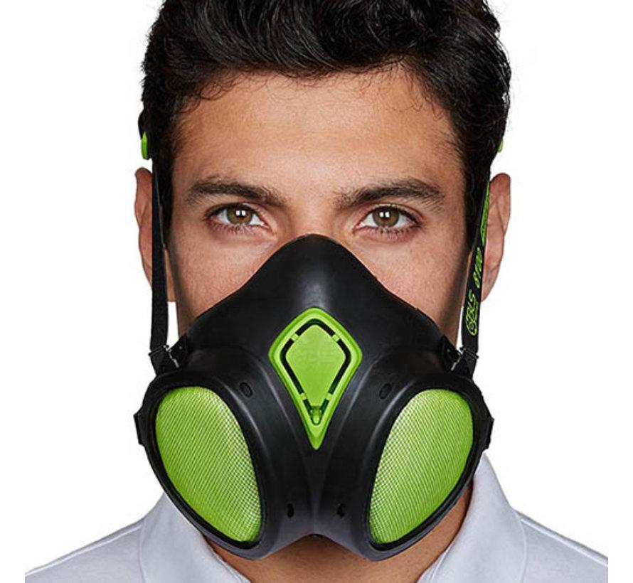 BLS 8100 half mask A2P2