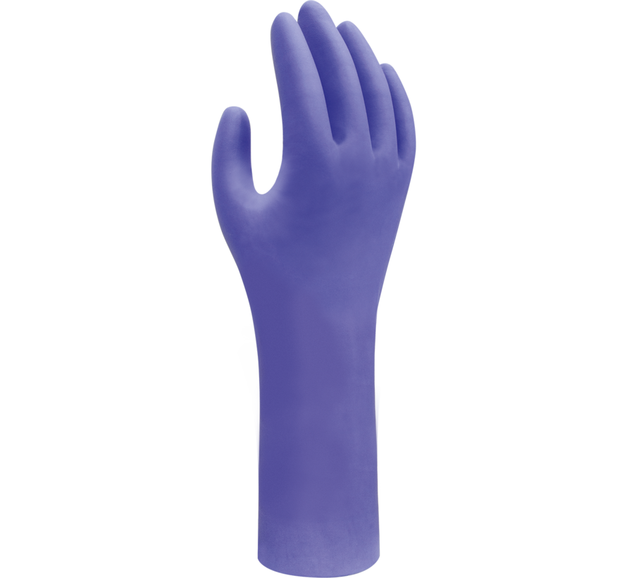 Showa 7545 disposable glove (Nitrile)