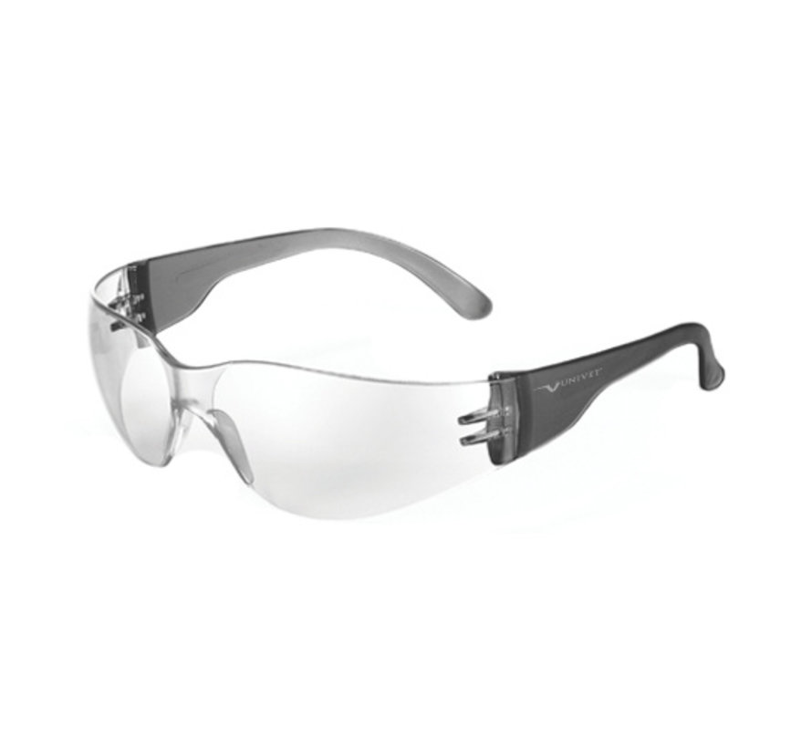 Univet 568 Safety glasses Clear