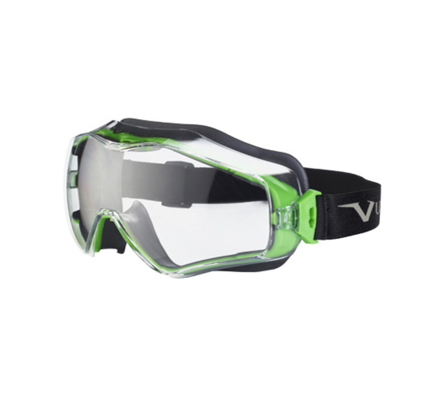 Univet 6x3 Ruimzichtbril voor boven masker