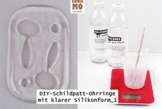 DIY Klare Silikonform für Schmuck