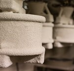Ceramic dish materials