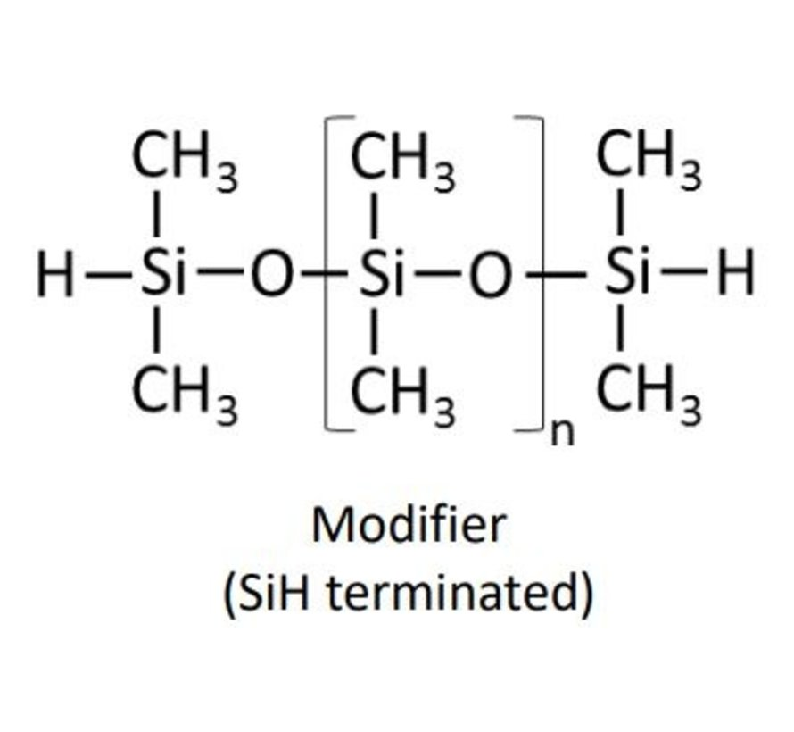 Modifier 2.6, both sides Si-H end-capped