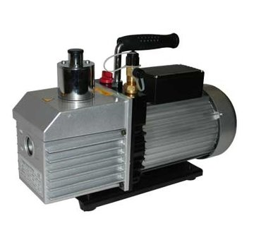 Vacuum pump for casting resins and silicone