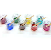 Transparent colourant  for polyurethane & epoxy resin