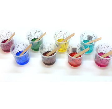 Transparent colourant  for polyurethane & epoxy resin