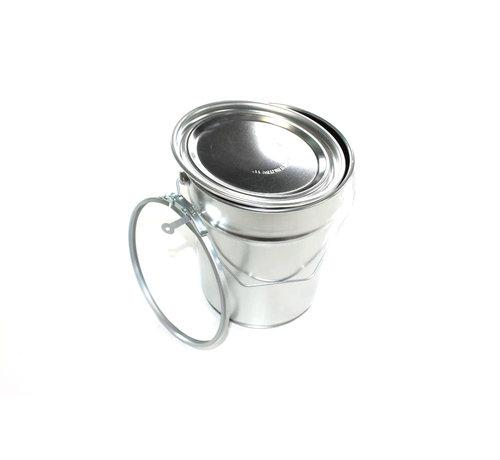 Konische Aluminium Eimer, 5 Liter.