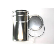 Konische Aluminium Eimer, 25 Liter.