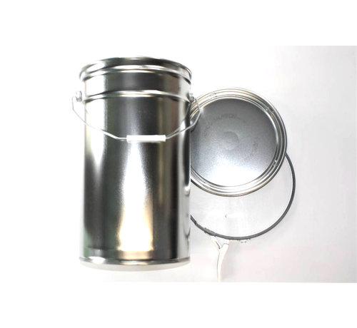 Conisch Vertind plaatstaalblik, 25 Liter inhoud.
