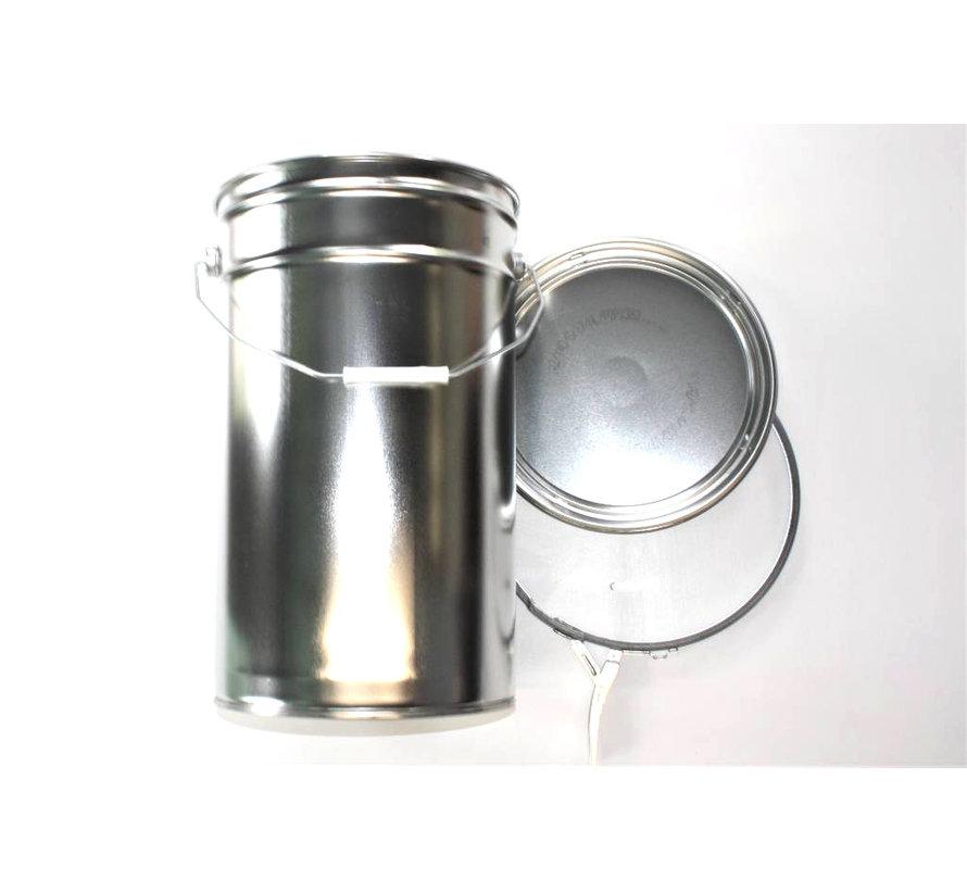 Conical aluminium can, 25 liter content