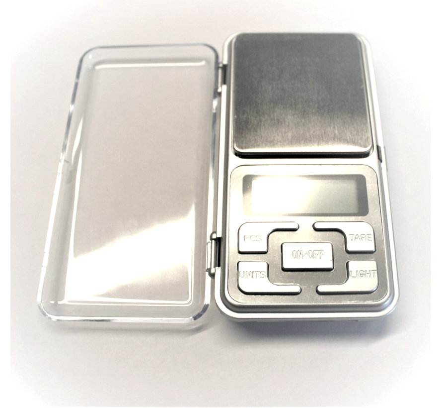 Digitale Präzisionswaage 0,01 - 200 Gramm