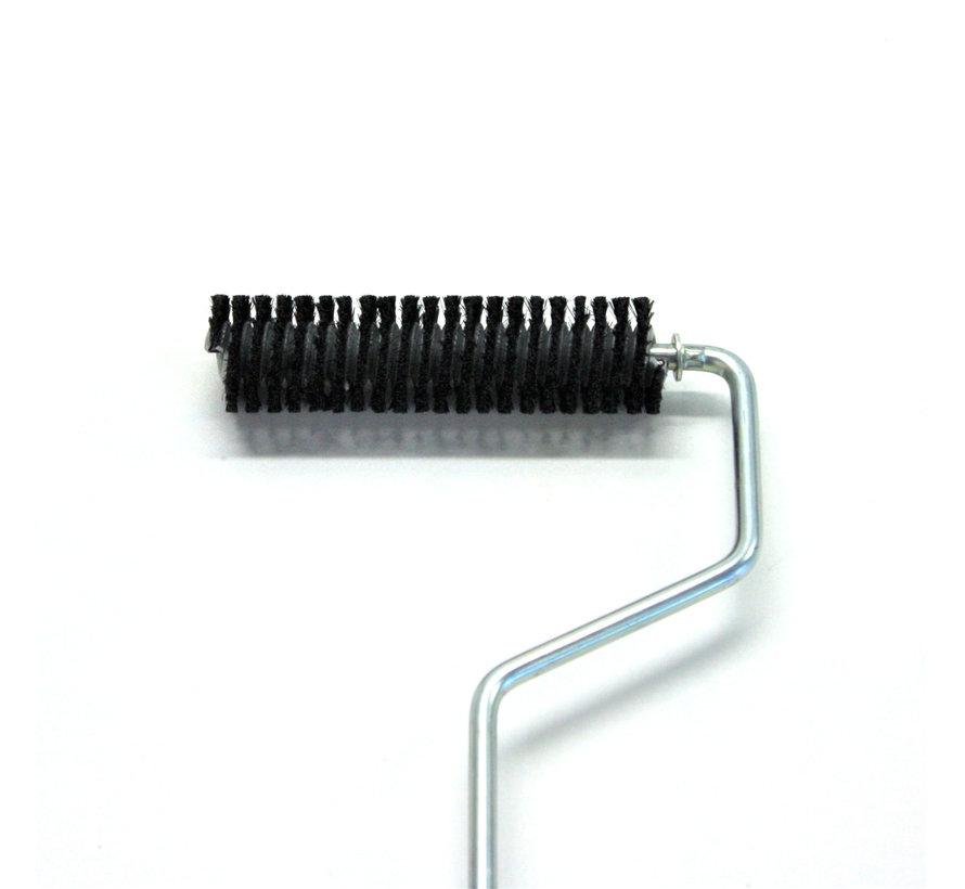 Brush roller for air venting / venting roller