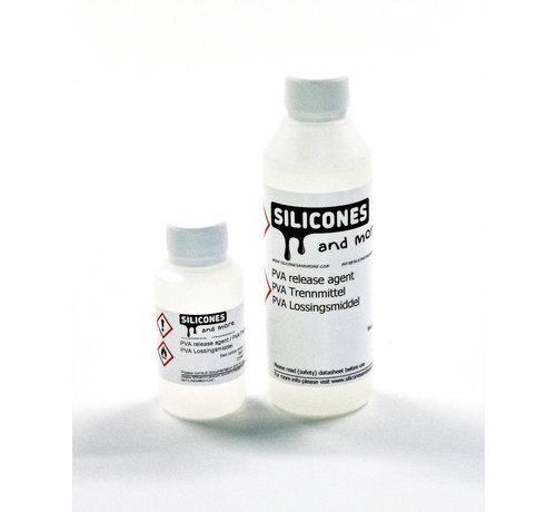 Polyvinyl Alcohol lossingsmiddel voor additie verhardende siliconen