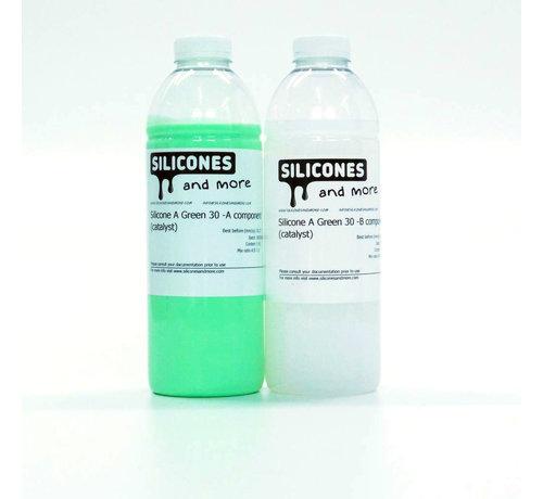 Siliconen Additie Green 30 Set (Hard)