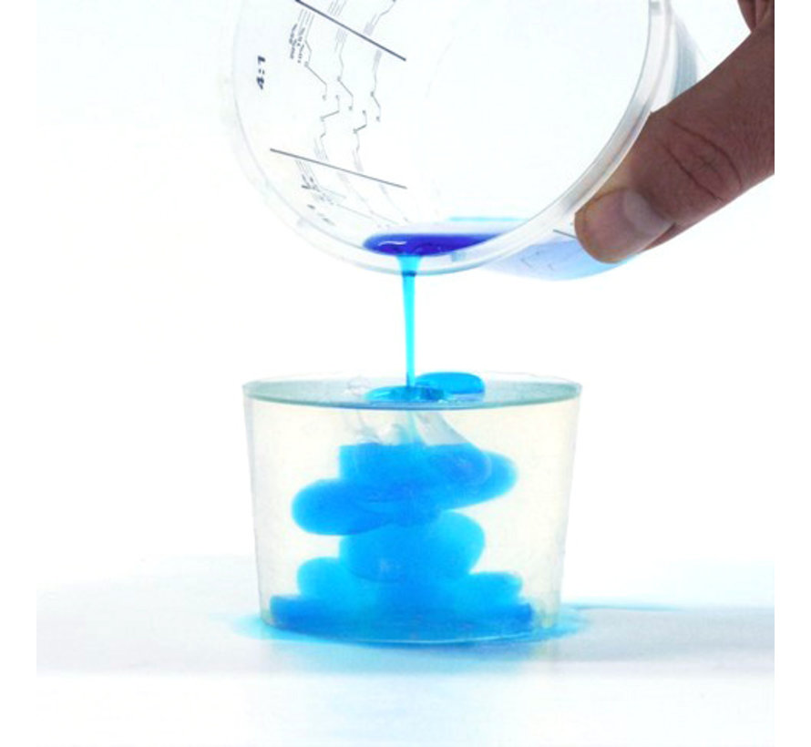 Silikon Addition Glasklar 25 (Mittel hart)