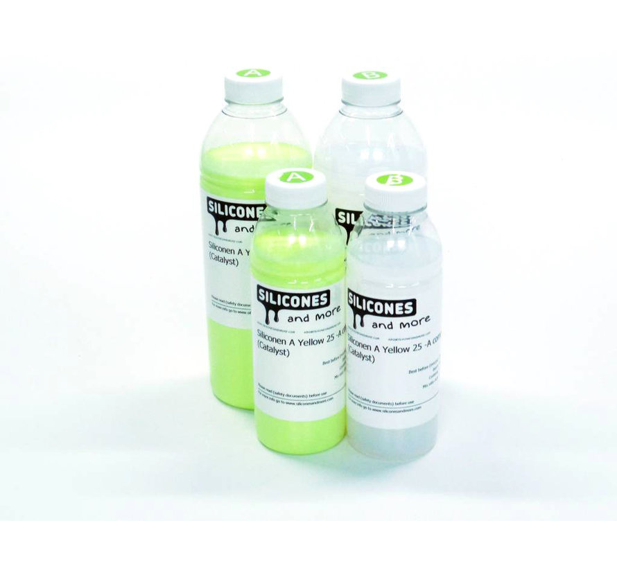 Siliconen Additie Yellow 25 Set (Gemiddeld hard)