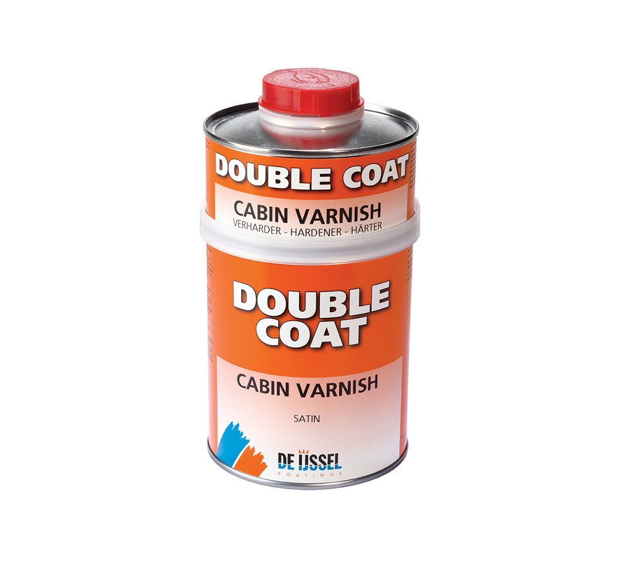 Double Coat Cabin Varnish - Satin - 750 ml. Set