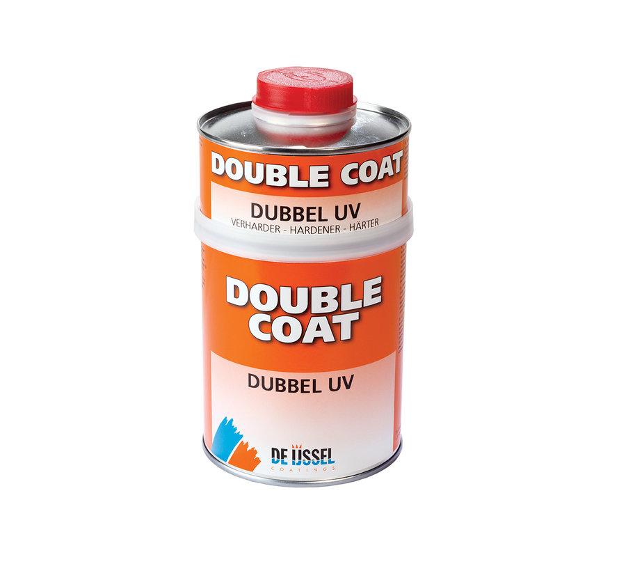 Double Coat Lak Dubbel UV Set
