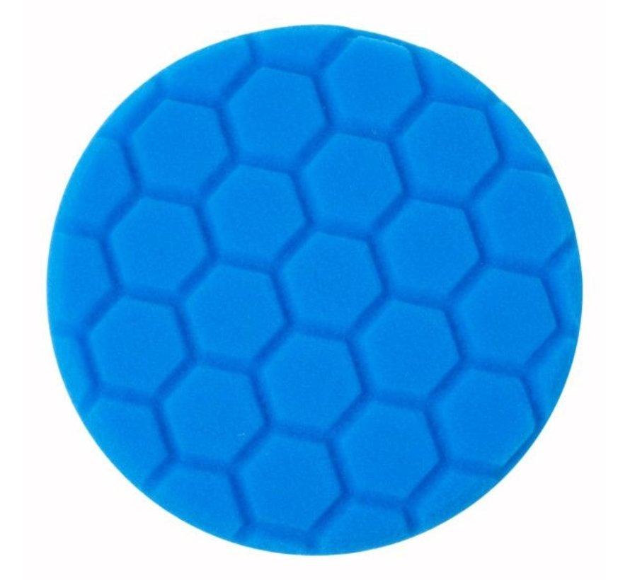 Poetspad Zacht, blauw - BTC Line Blue  Ø 135 mm