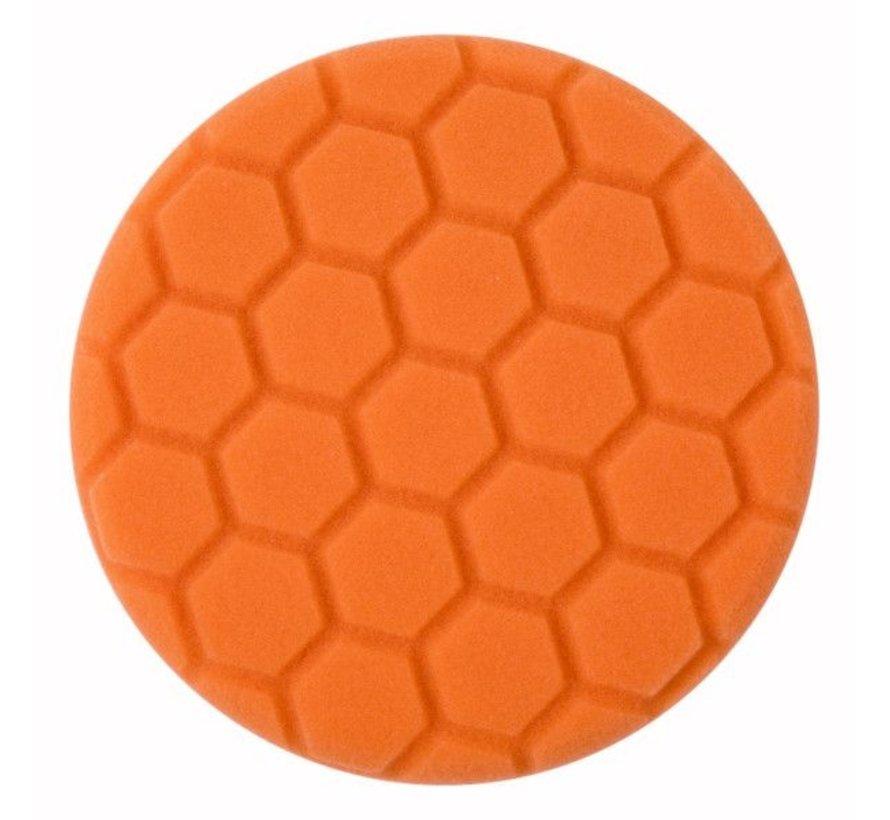 Cleaning pad Medium, orange - BTC Line Blue  Ø 135 mm