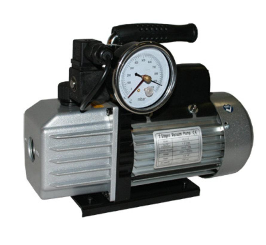 Vacuum pump EVD-VE115SV, including vacuum chamber 9 liters