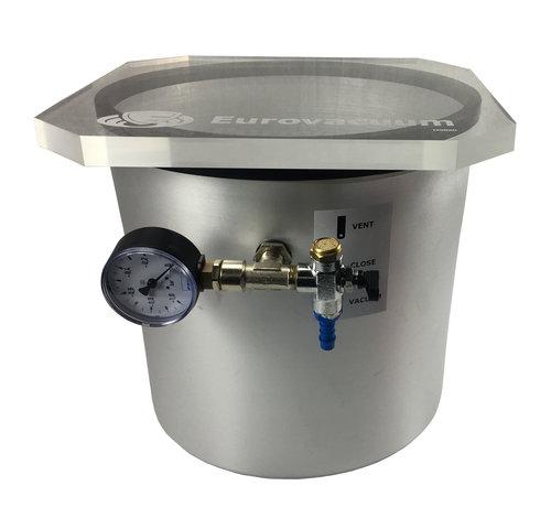 Eurovacuum De-Gassing Chamber 9 Liter