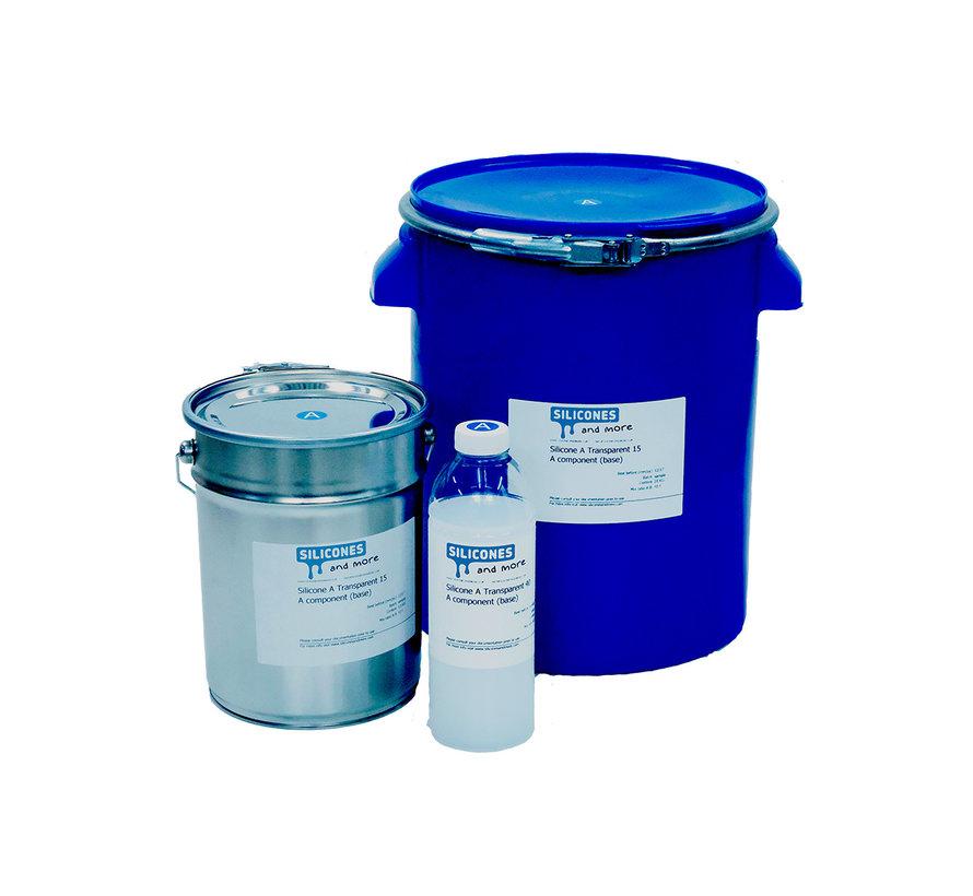 Siliconen Additie Transparant 15 Snel (Zacht)