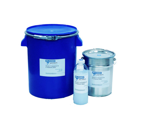 Wacker Siliconen Additie Transparant 40 Snel (Hard)