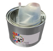 Auslauf für Farbdosen bis 1 Liter