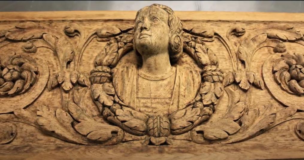 Een houten ornament kopiëren