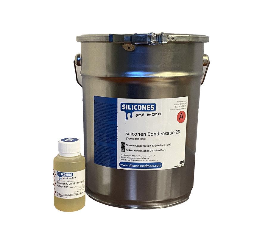 Silicone Condensation 20 (Medium Hard)
