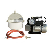 Eurovacuum Vacuum pump EVD-VE115SV, including vacuum chamber 9 liters