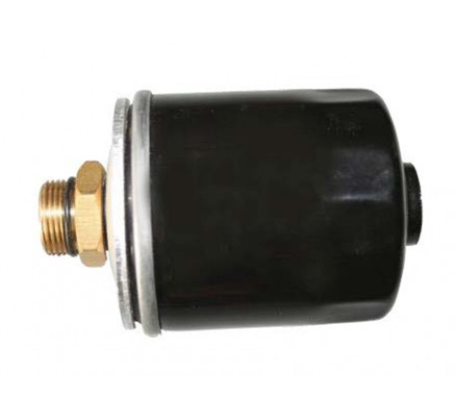 Oil mist filter with BSP connection for vacuum pump