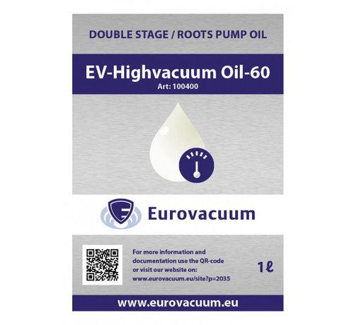 Eurovacuum Öl für Vakuumpumpe - EV-Hochvakuumöl-60