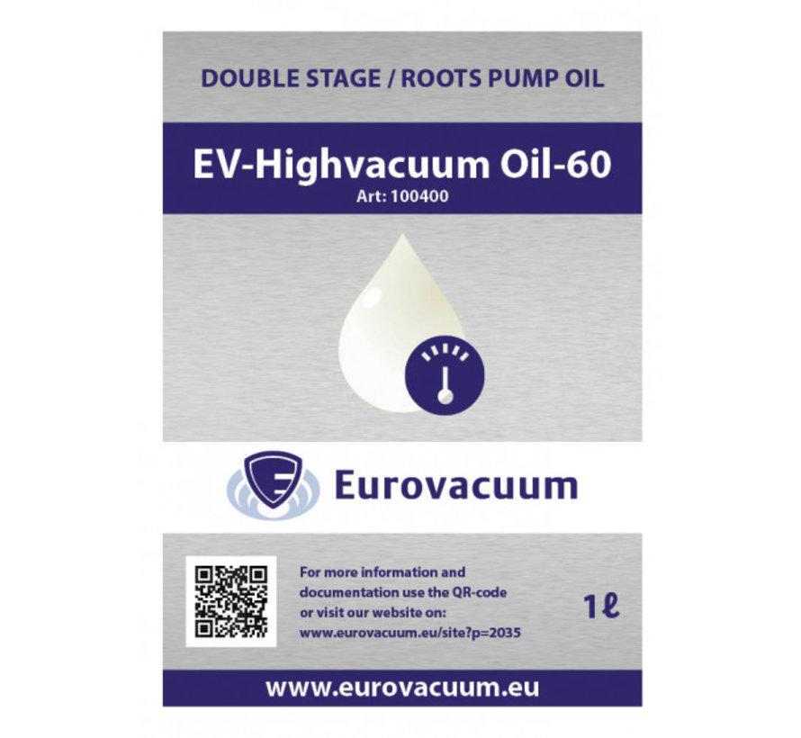 Oil for Vacuum Pump - EV-Highvacuum Oil-60