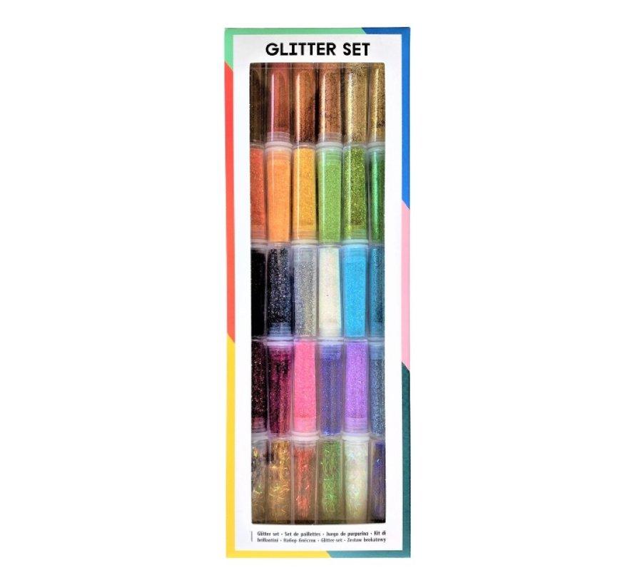 Glitzer-Set - 30 Farben