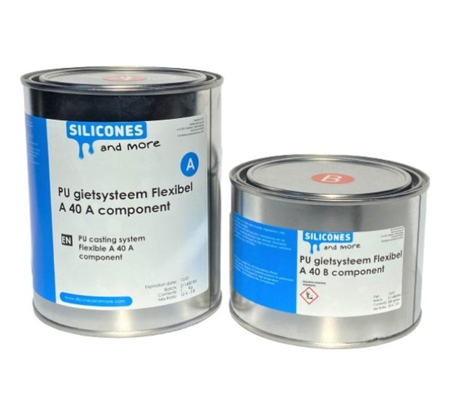 Polyurethan Gießsystem Flexibel  A40