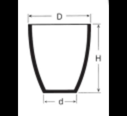 Graphite crucible form A