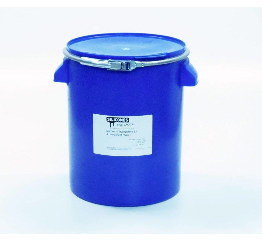 Elastosil Vario 15 + Catalyst Vario / Siliconen Additie transparant 15 normaal