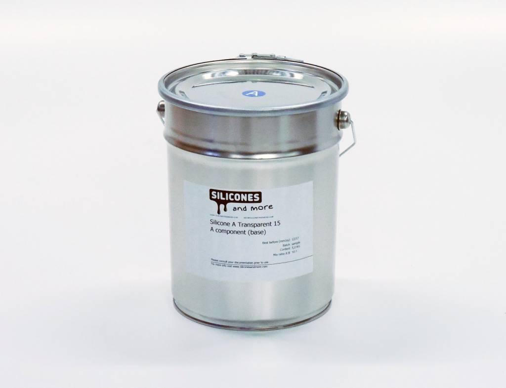 Siliconen Additie Transparant 15 Normaal (Zacht)
