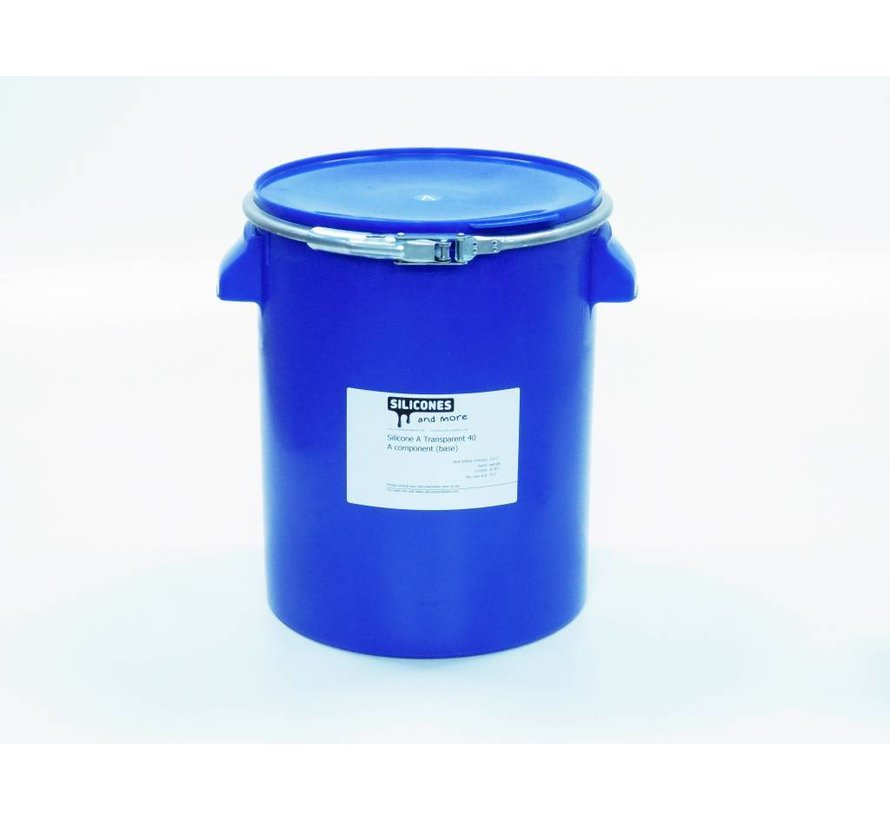 Silicone Addition Transparent 40 Fast (Hard)