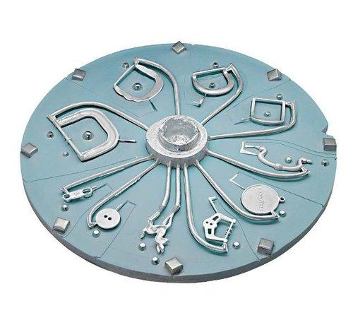 HTV-Silikon Platte Blau