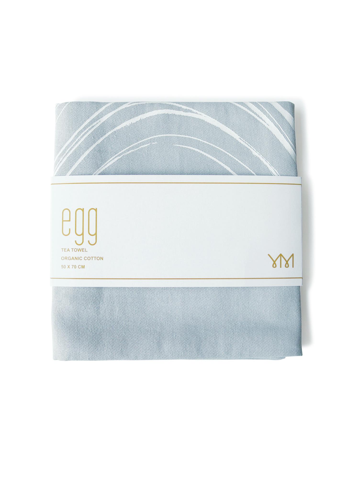 tea towel egg