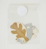 cadeau labels - leaves