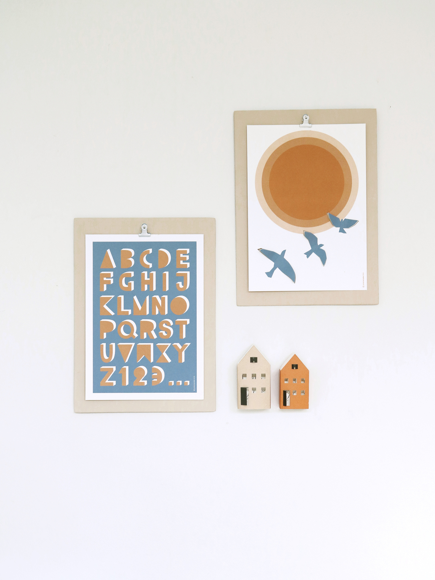 FLY pop-up poster